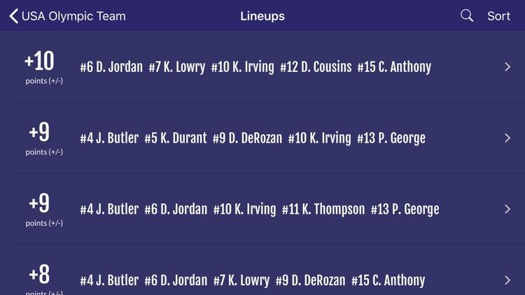 Easy Stats for Basketball screenshot-9