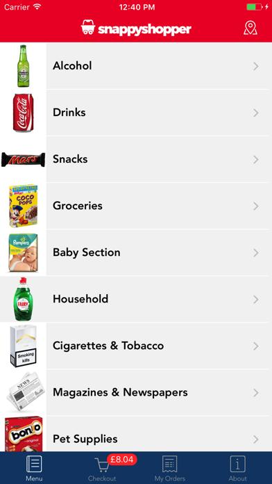Snappy Shopper screenshot two