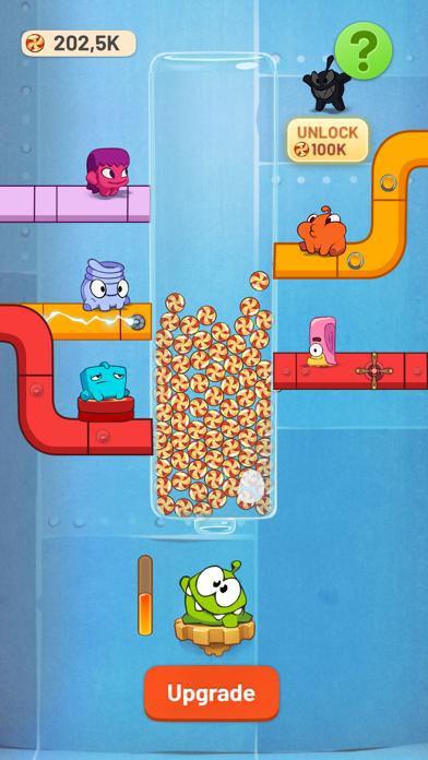 Om Nom Idle Candy Factory screenshot 1