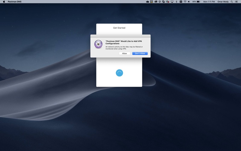 Rocket DNS скриншот программы 3