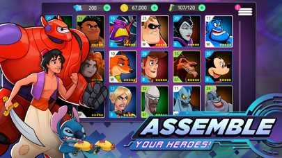 Disney Heroes: Battle Mode free Diamonds hack