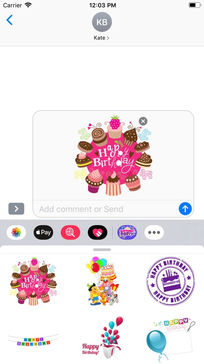 Happy Birthday | Stickers Pack screenshot-7
