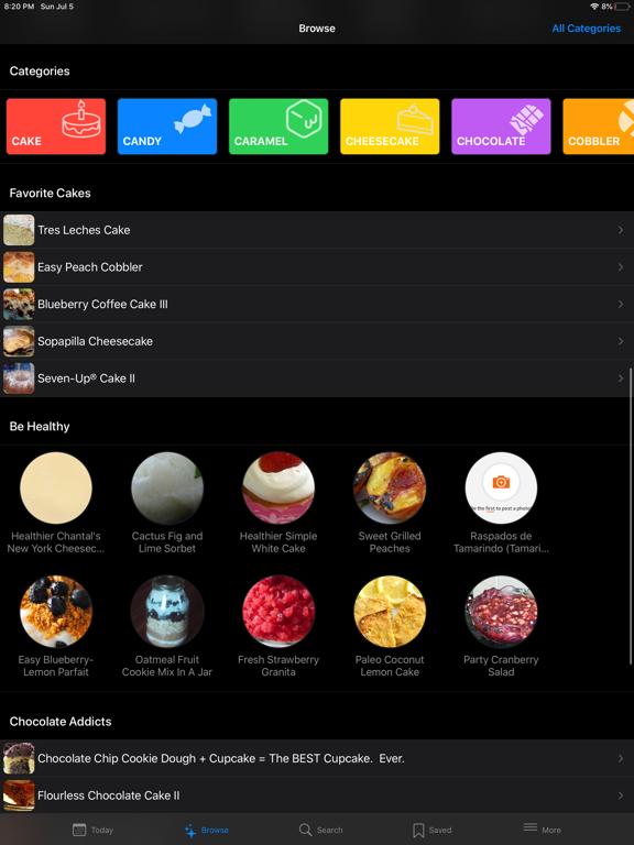 Just Desserts - Recipes screenshot
