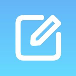 メモ帳 - 片手で操作しやすいメモ帳