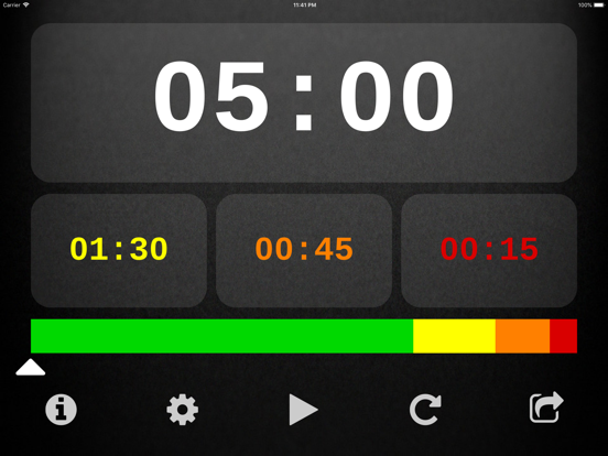 Speech Timer for Talks and Presentations screenshot