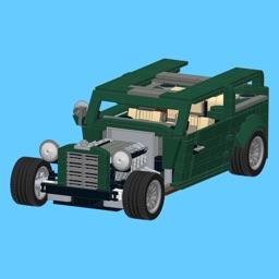 Hot Rod for LEGO 10242 Set