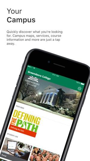 Greensboro College Campus Map.Greensboro College On The App Store