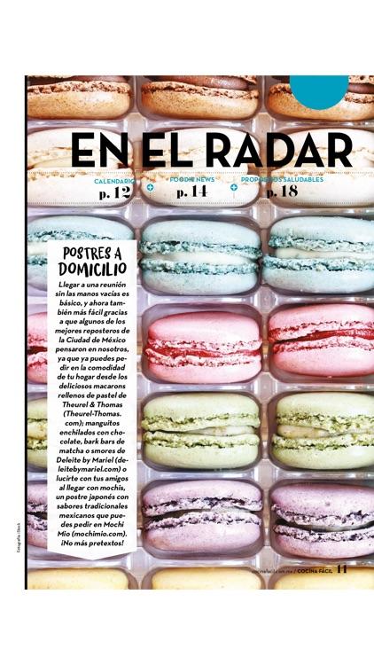 Cocina Fácil Revista screenshot-3