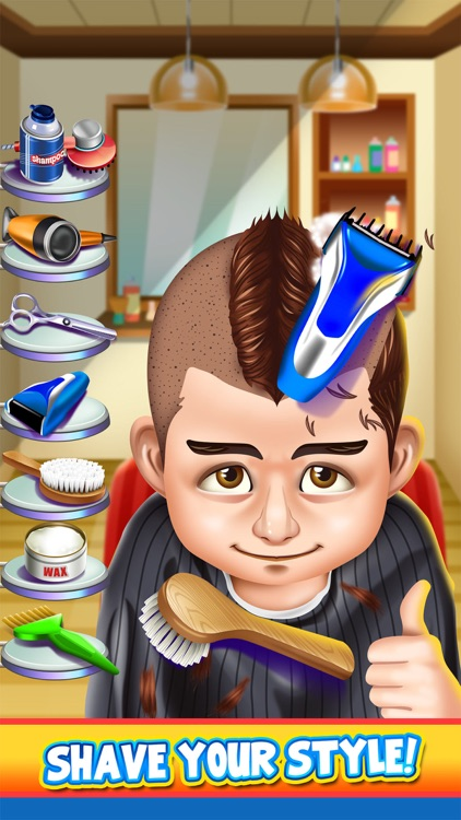 Shave Salon Spa Games screenshot-2