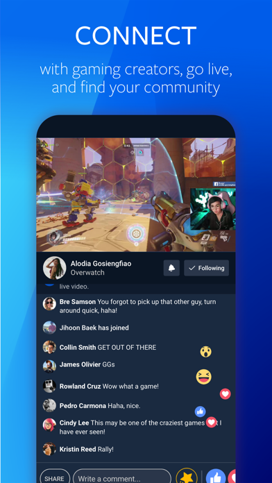 Facebook Gaming Screenshot