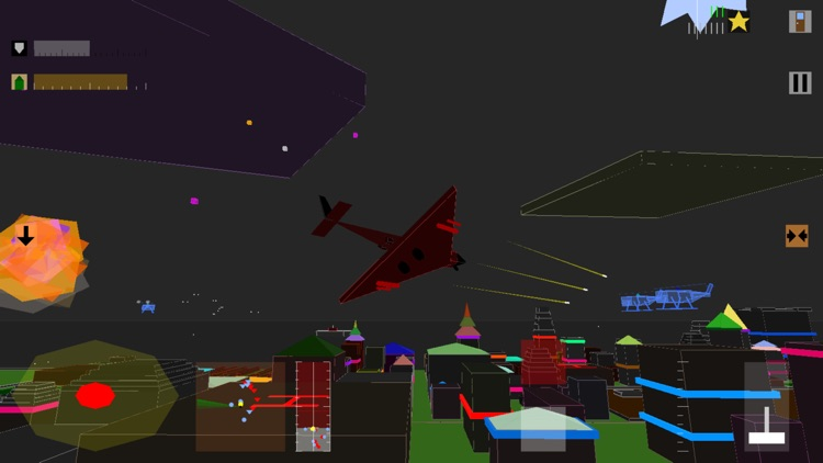 Retro Flight: 3D battle sim screenshot-0