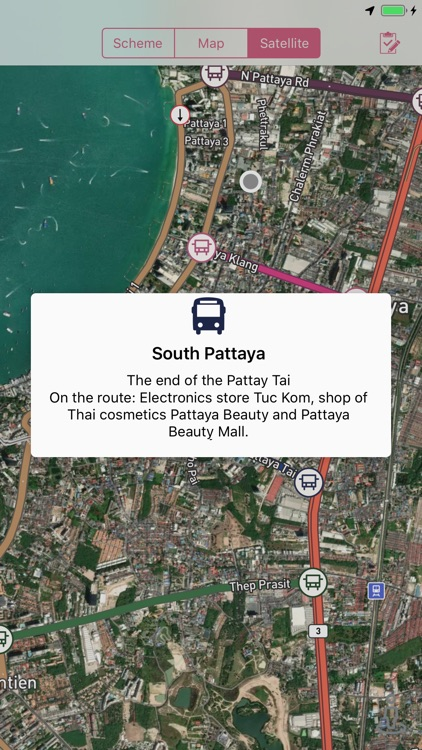 Pattaya -  Songthaew routes screenshot-1