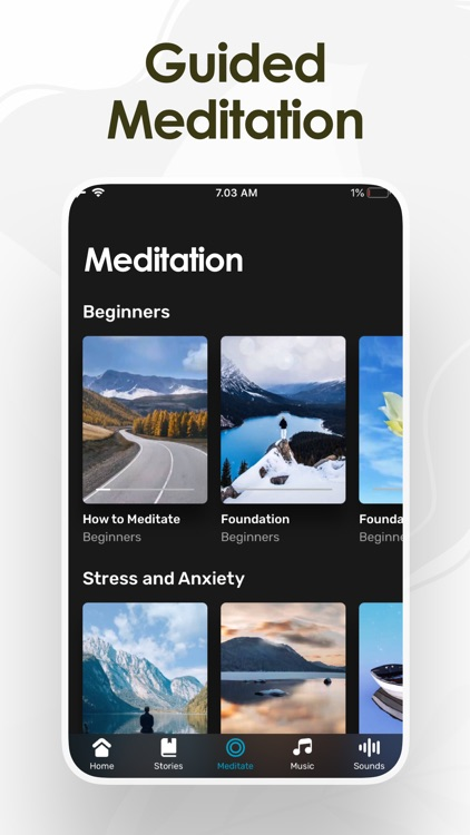 Meditation by Soothing Pod screenshot-0