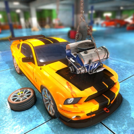 Car Mechanic : Junkyard Empire iOS App