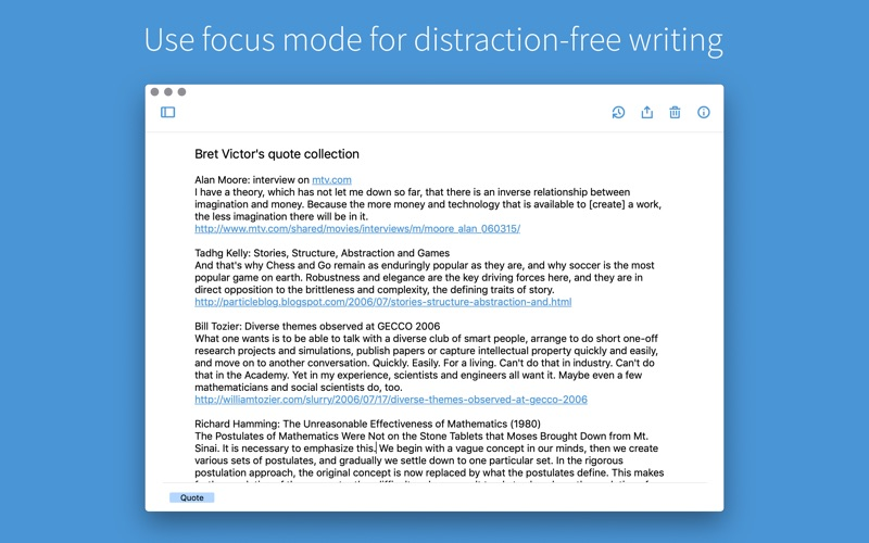 Simplenote for Mac