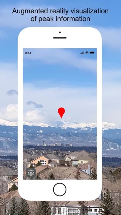 Screenshot for SummitPeek in United States App Store