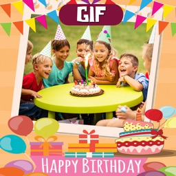 Happy Birthday Animated Frames