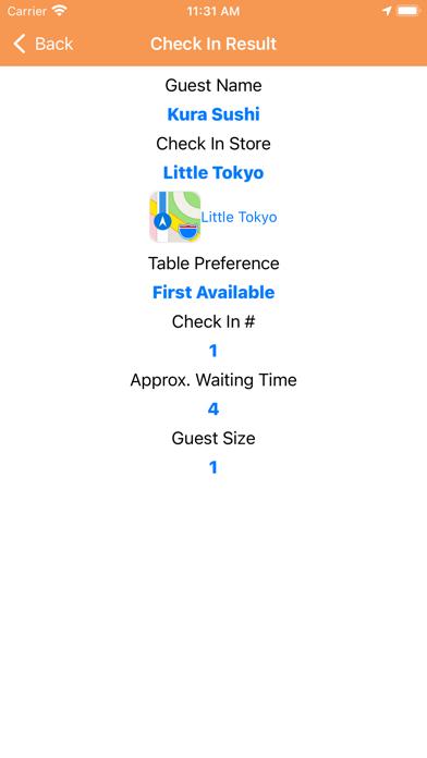 cancel Kura Sushi Waitlist subscription image 2