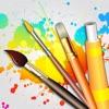 ドローイング デスク: 落書き・お絵描き・お絵かき アプリ