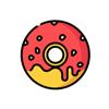 Senga Games, LLC - Fast Food Stickers...  artwork