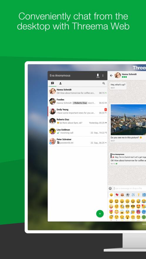 Threema App 截图