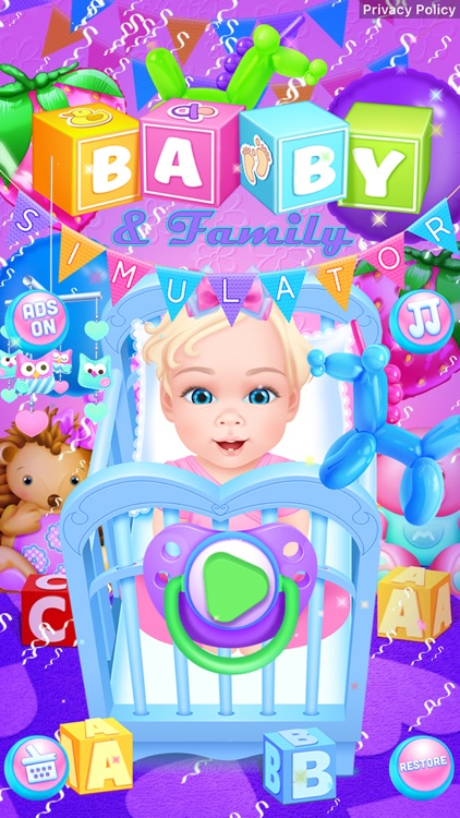 Baby & Family Simulator Care screenshot-5