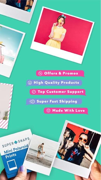 Super Snaps: Photo Printing screenshot two