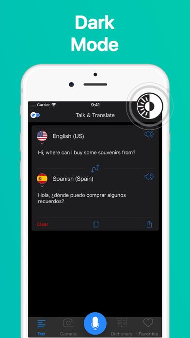 Talk & Translate Translator Screenshot
