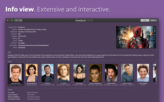 ‎Movie Explorer Pro Screenshot