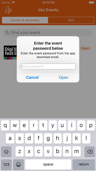 Image of Jisc Events for iPhone