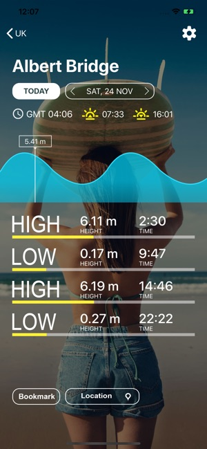 UK Tides - Tide Predictions on the App Store