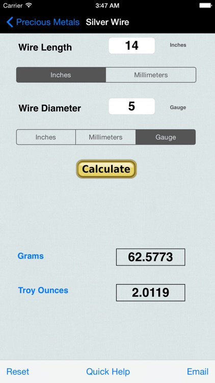 Precious Metal&Gem Calculator