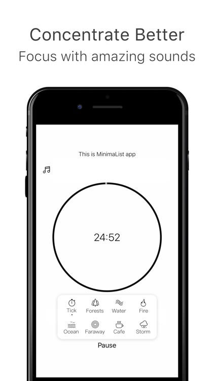 MinimaList - To Do List Tasks screenshot-3