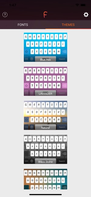 Cool Fonts & Keyboard Themes on the App Store