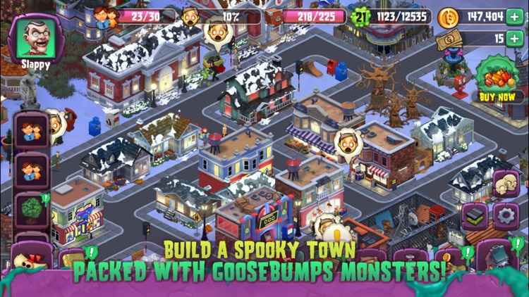 Goosebumps Horror Town screenshot-0