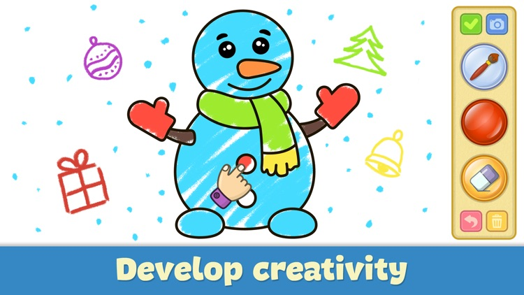 Drawing for kids: doodle games screenshot-2