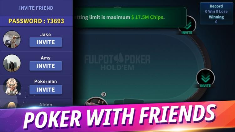 Fulpot Poker:Texas Holdem Game screenshot-9