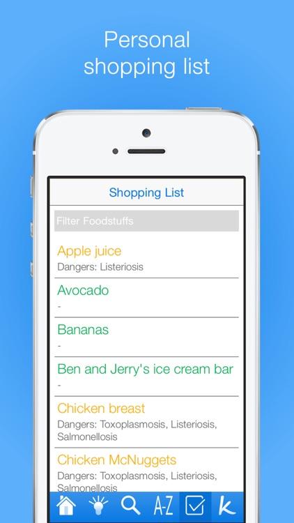 Pregnancy Food Guide! screenshot-4