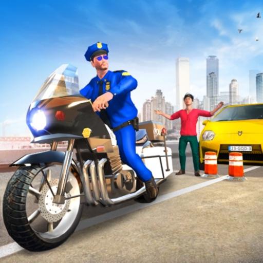 Extreme Traffic Police Bike