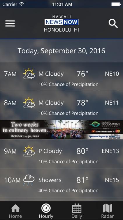 Hawaii News Now Weather screenshot-3