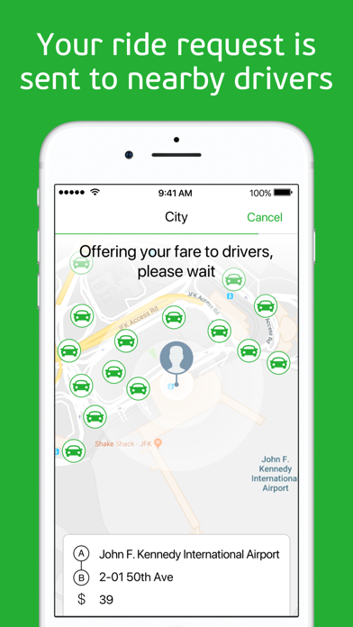 Screenshot for inDriver: Offer your fare in Jordan App Store