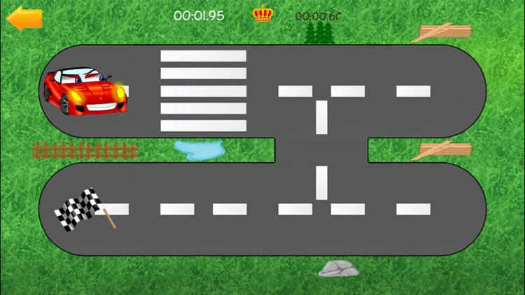 Cars Road Labyrinth Kids Game screenshot-1