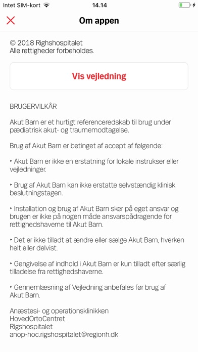 Screenshot for AKUT BARN in Denmark App Store