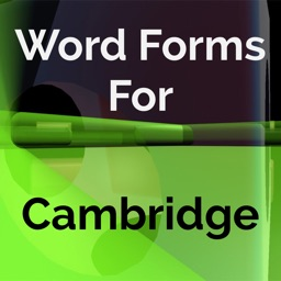Word Forms for Cambridge