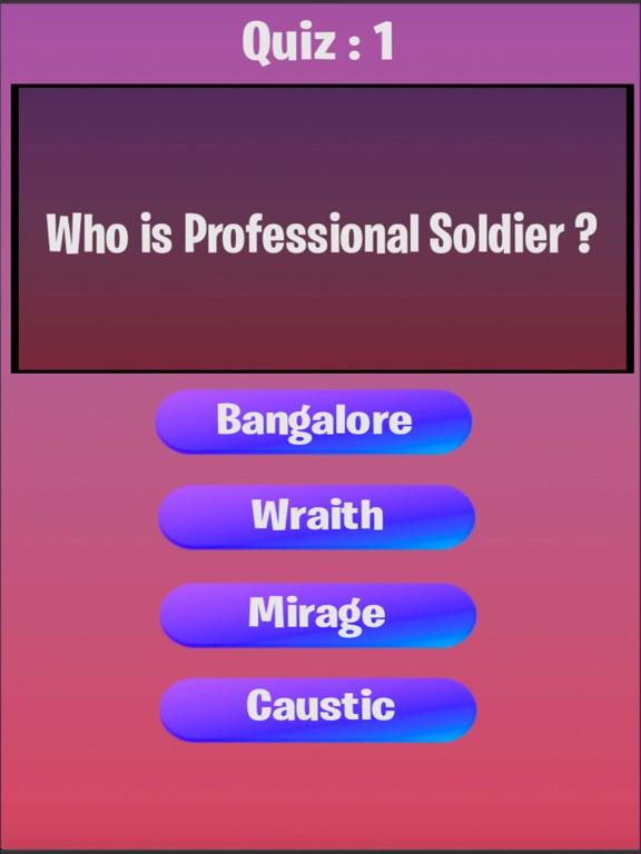 Apex Quiz screenshot 4