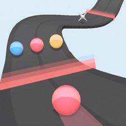 Color Helix Twisty Path Bump