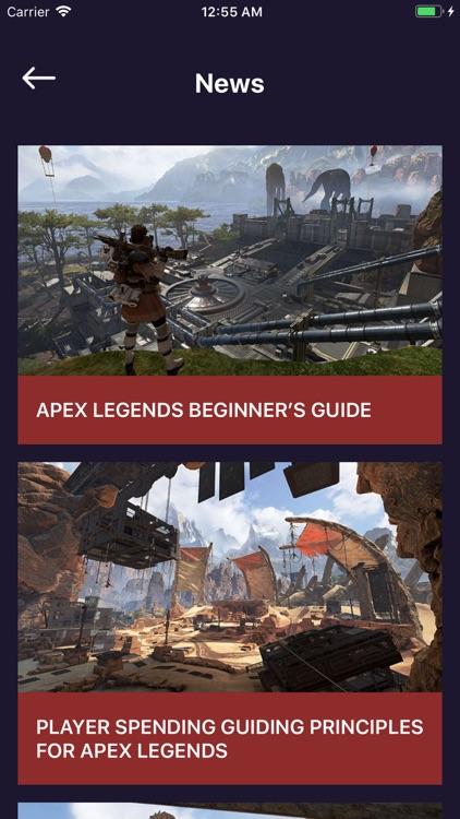 Guide Book For Apex Legends screenshot-3