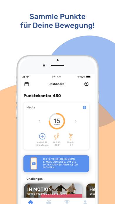 Proactive Health AppScreenshot von 1