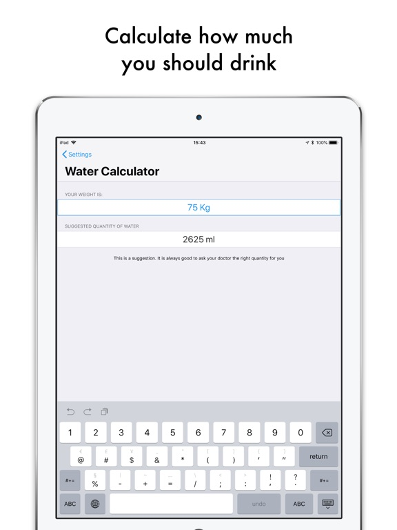 Drink Water PRO Daily Reminder Screenshots