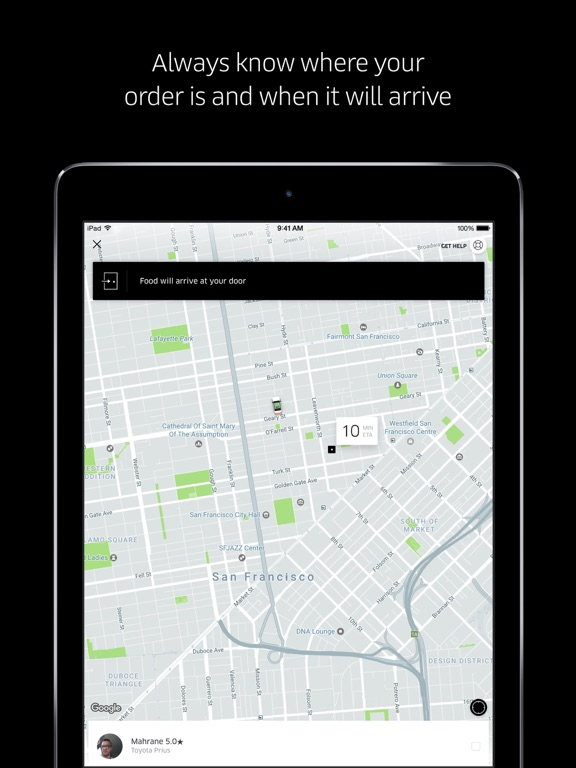 iPad Image of Uber Eats: Food Delivery